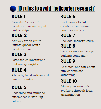 helicopter rules